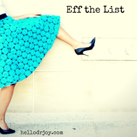 Eff the List!